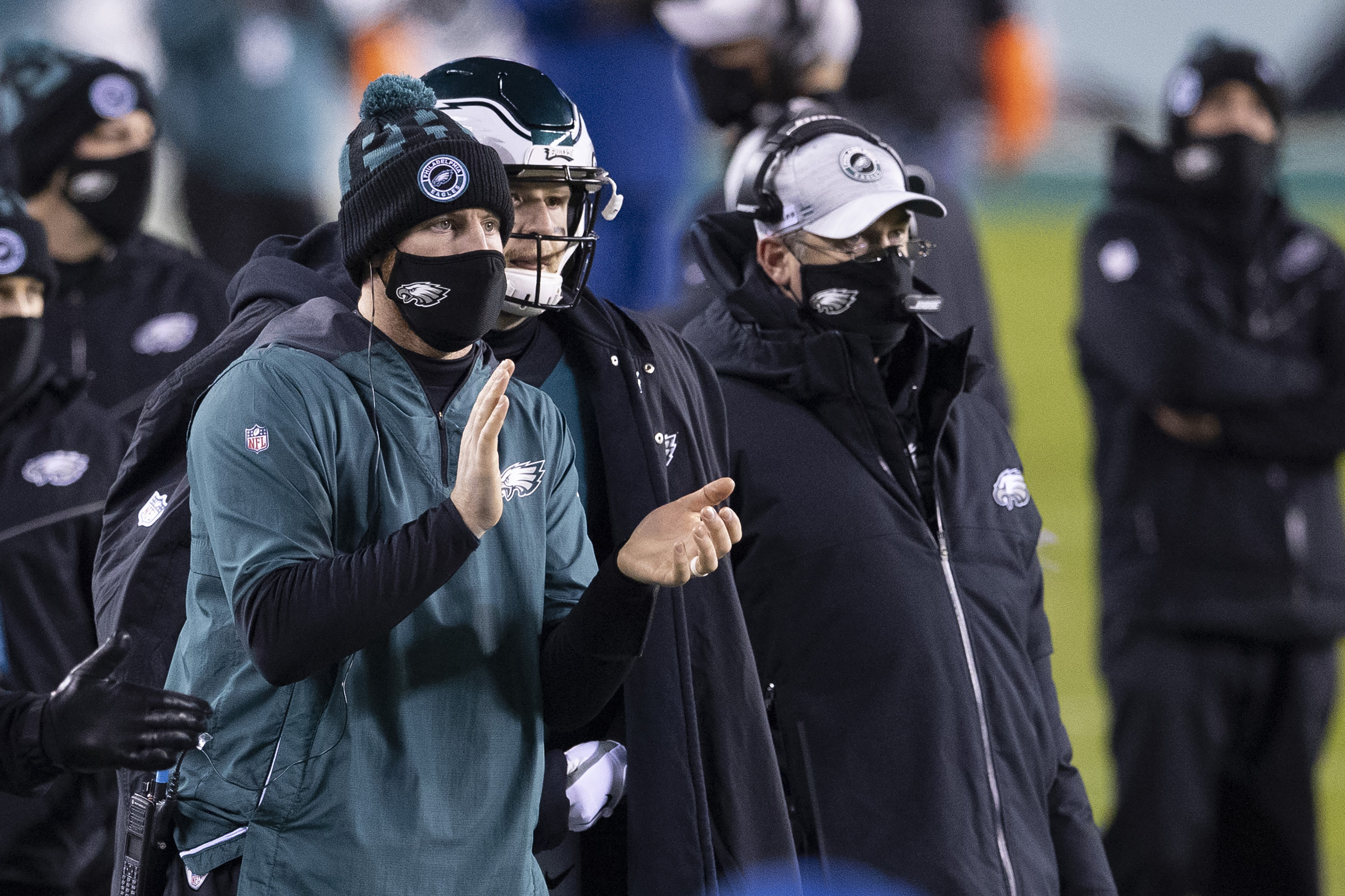 Carson Wentz's future with the Philadelphia Eagles seems more likely because Doug Pederson has been fired.