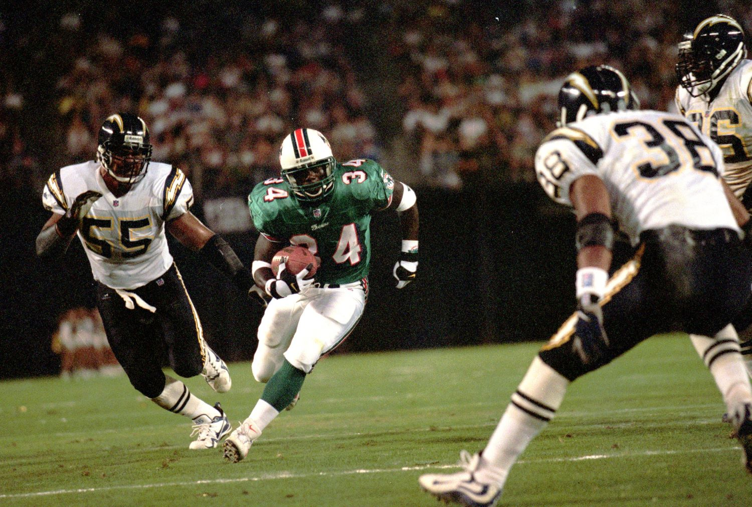 Former Dolphins RB Cecil Colllins lost 13 years of his freedom because of a bizarre crime that involved wanting to watch a woman sleep.