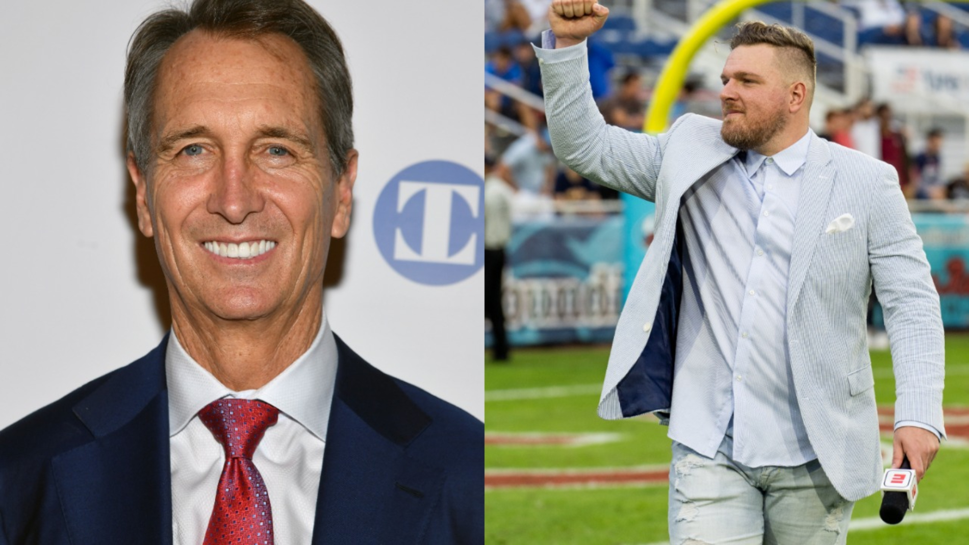 NBC's Cris Collinsworth made some comments during a recent game that were pretty polarizing. They ultimately got Pat McAfee fired up, too.
