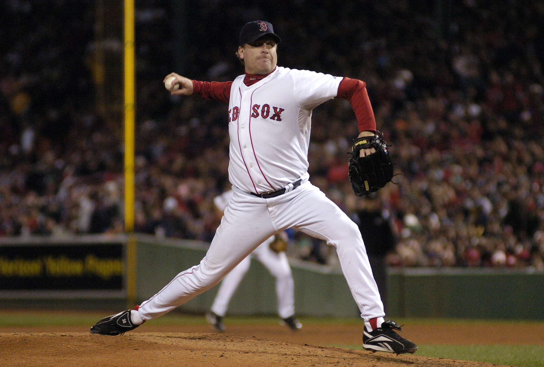 Controversial pitcher Curt Schilling once received a $15,000 fine for smashing a camera.