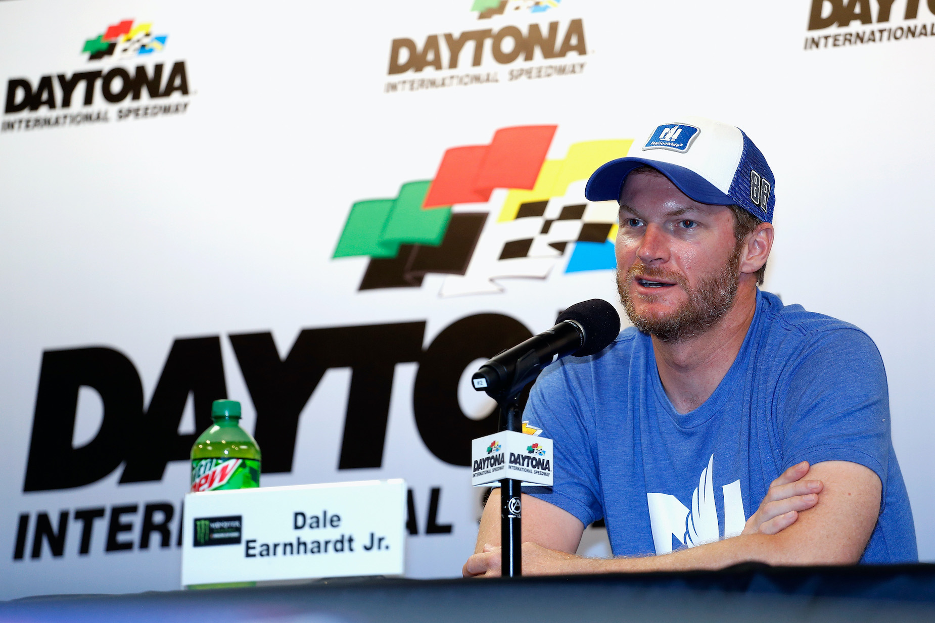 Dale Earnhardt Jr. embraced Daytona International Speedway as a special place after his father's tragic death.