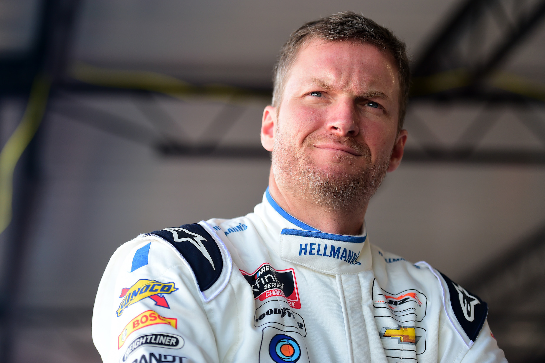 While Dale Earnhardt Jr. made his name in NASCAR, he's also pretty passionate about sandwiches.