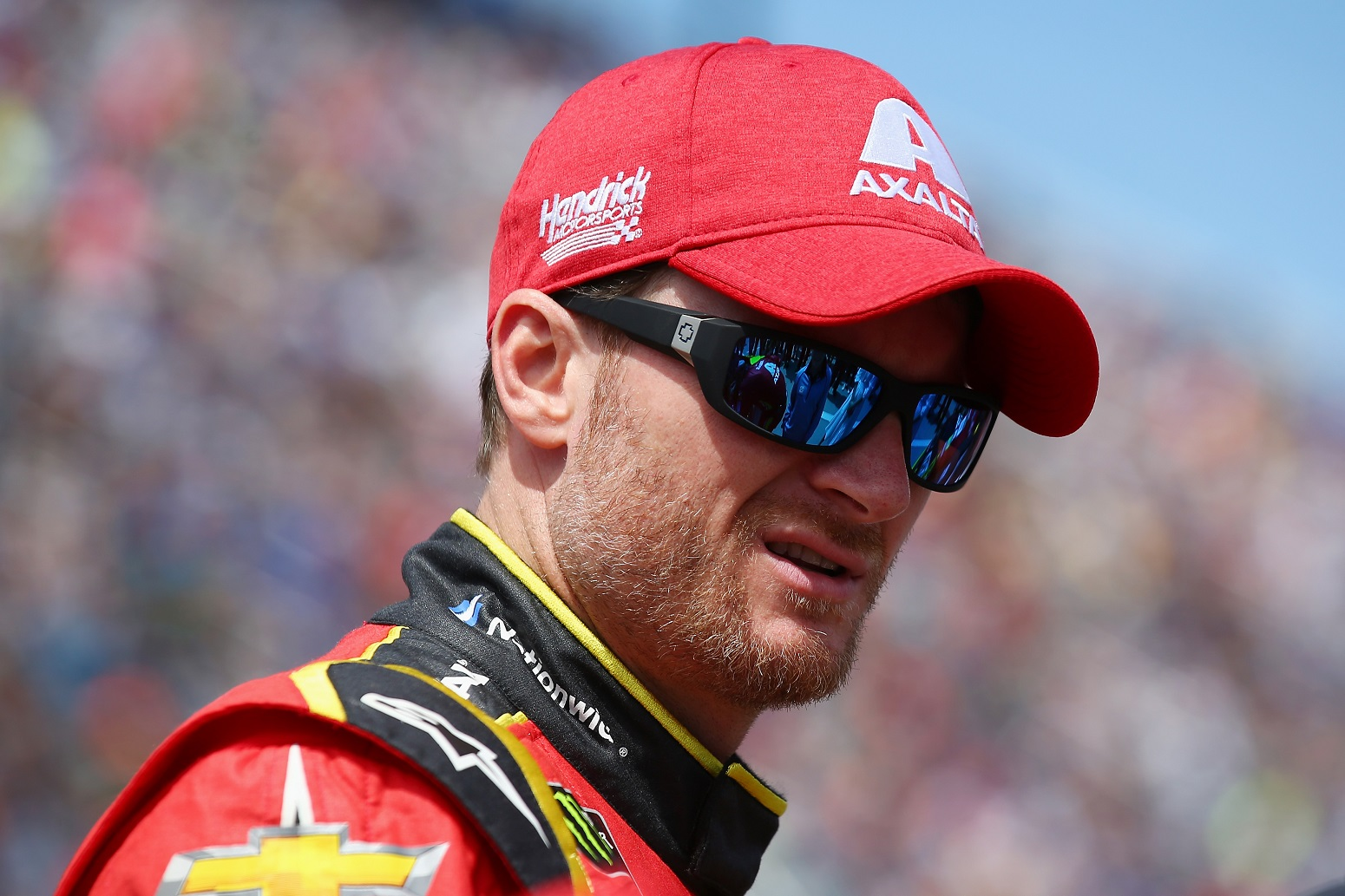 Dale Earnhardt Jr. contemplating his NASCAR tradition