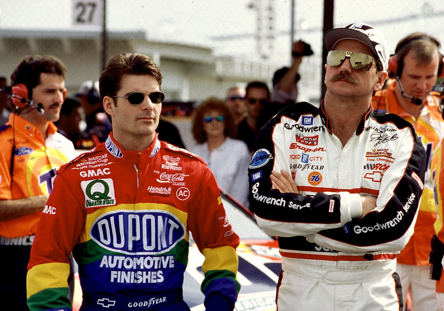 Dale Earnhardt Sr. questioned Jeff Gordon's sexuality