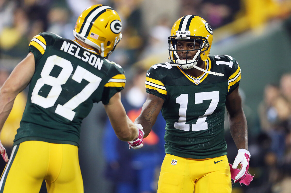Green Bay Packers receiver Davante Adams needed a few years before he became a superstar. Adams owes his former teammates for not quitting on him.