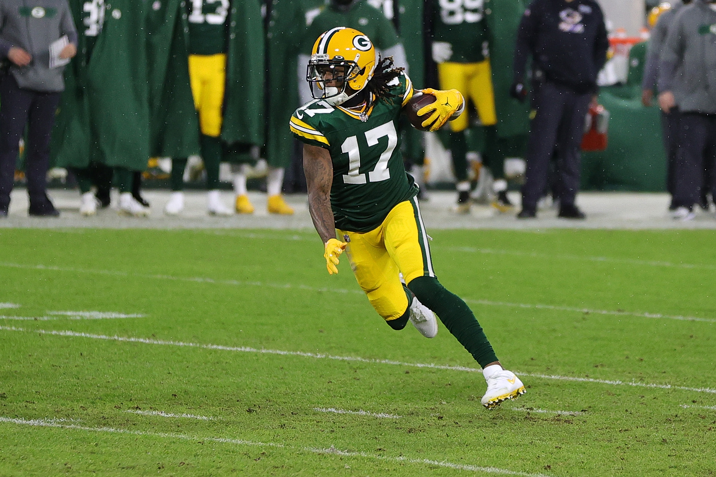 Davante Adams suffered an injury during Pop Warner and it almost halted his football career.