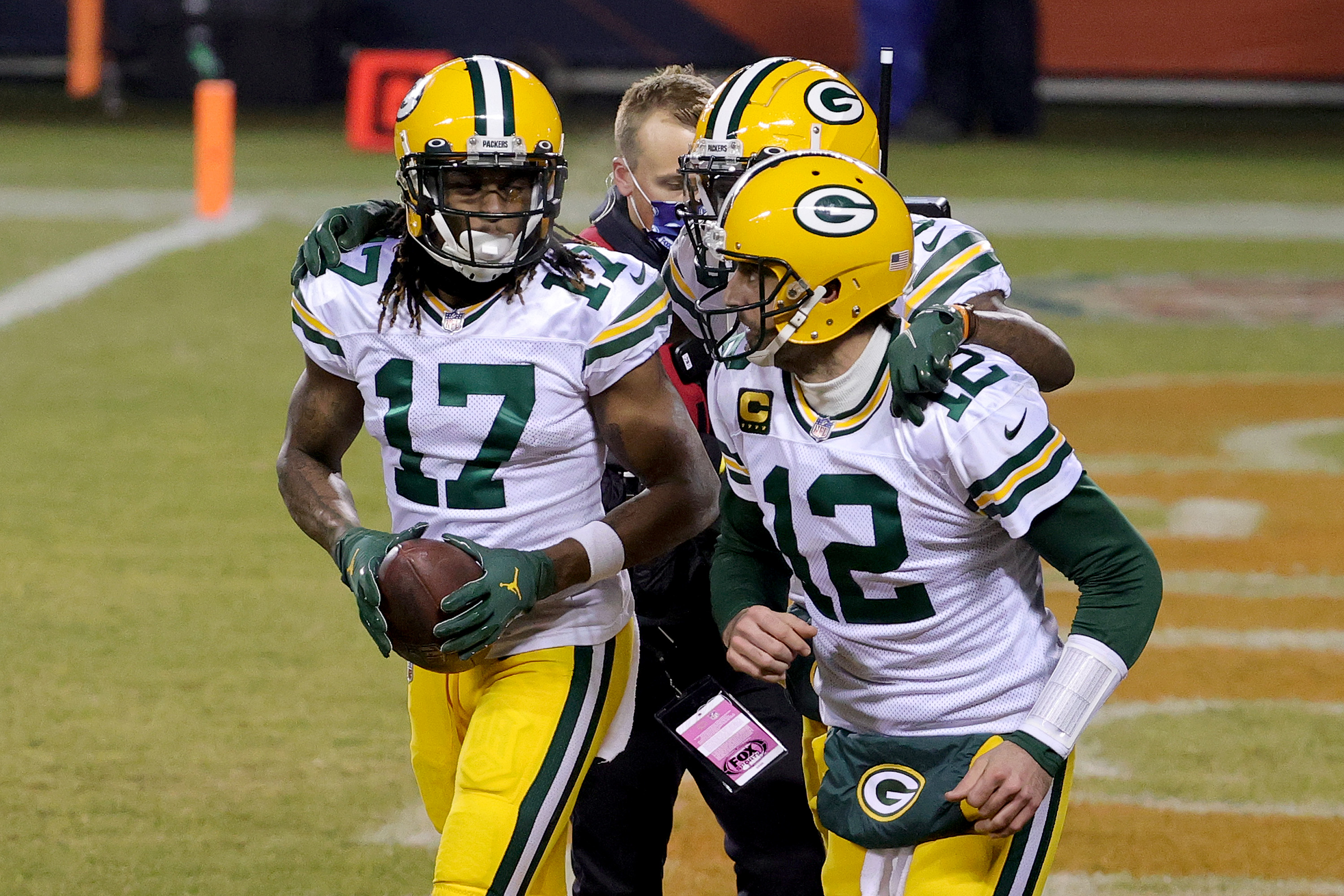 Davante Adams has a message for those who can't spell his name.