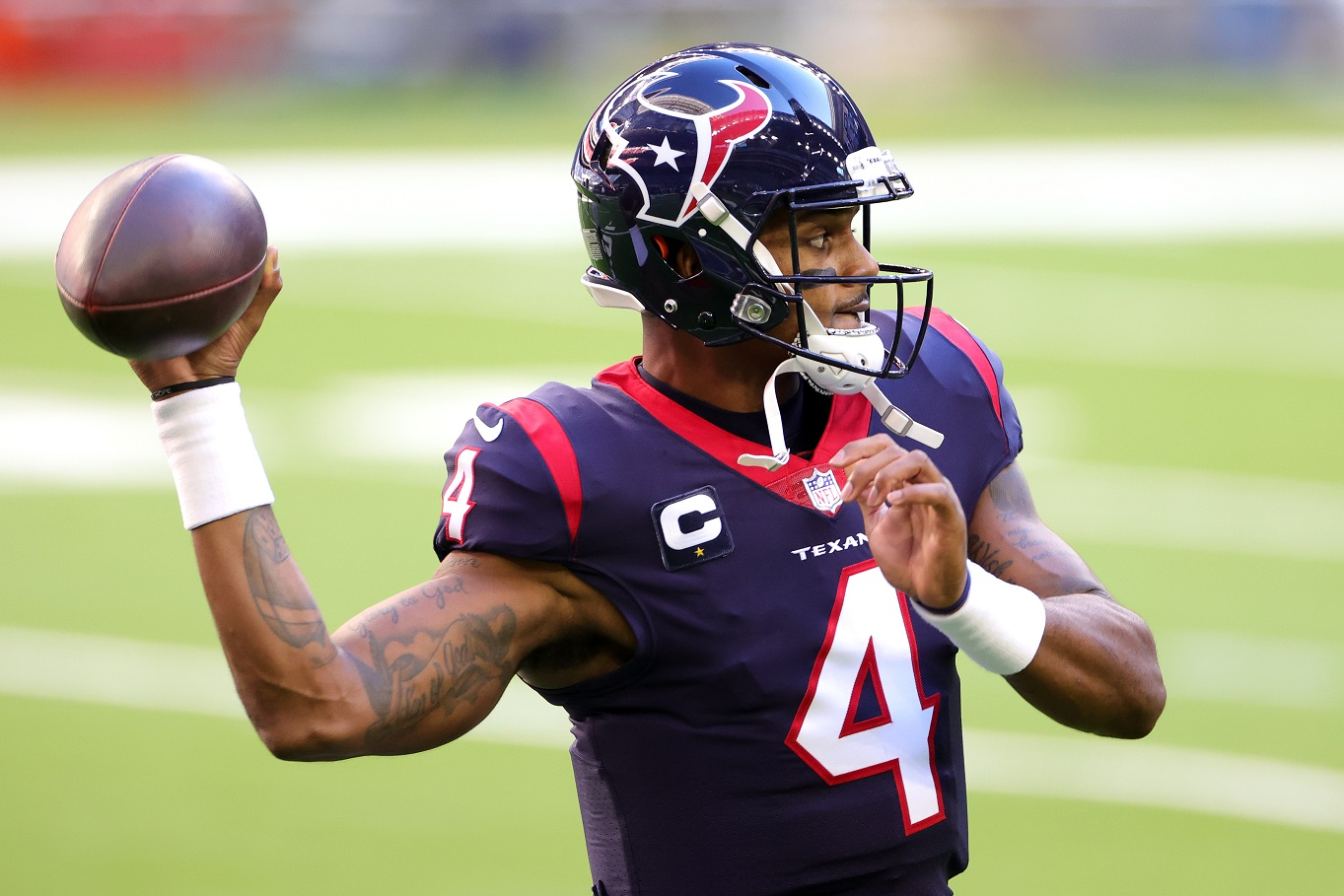 A 'Humbled' Deshaun Watson Has Urged Disgruntled Texans Fans to Stay Home