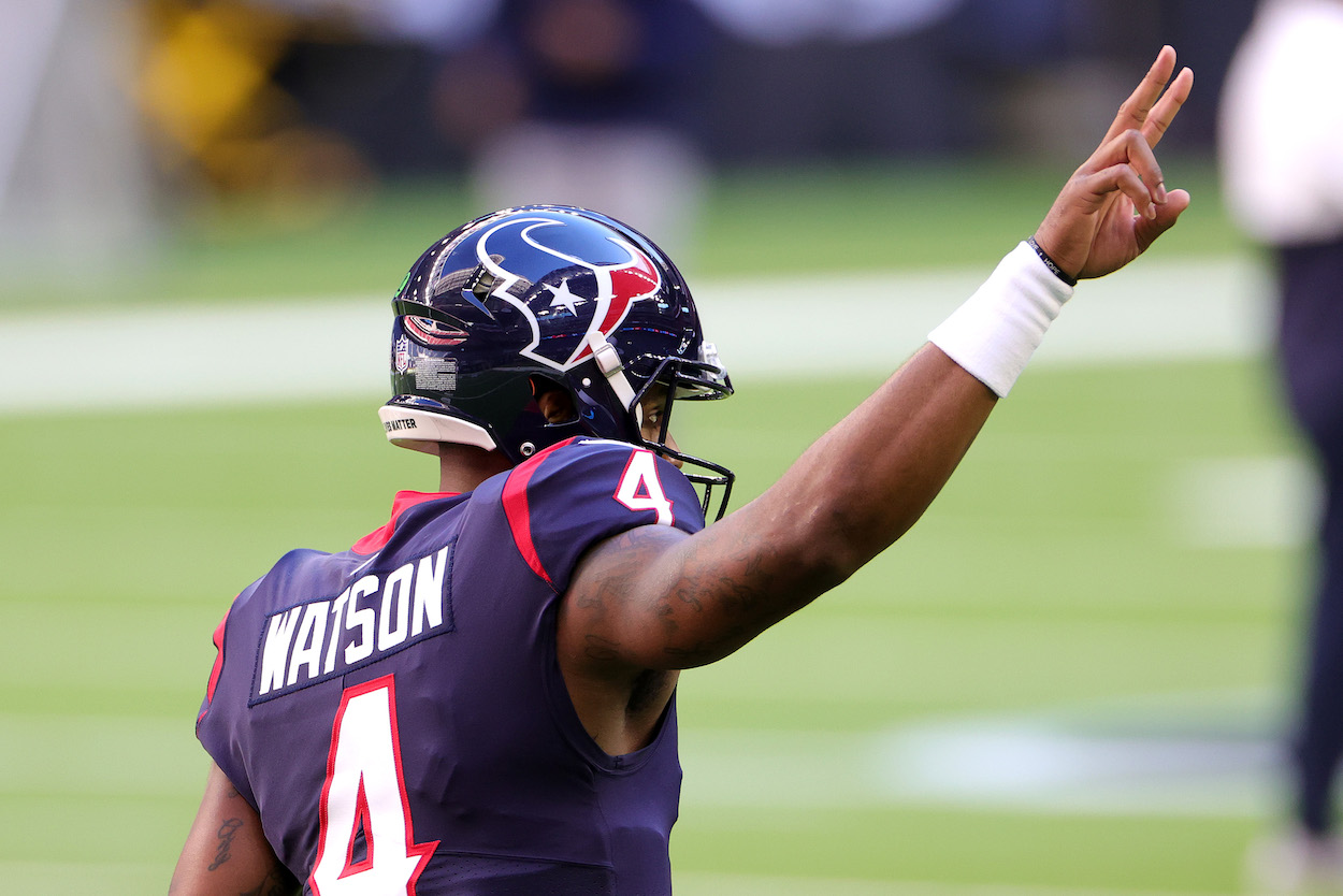 Deshaun Watson Has a Powerful Houston Voice Pleading for Him to Stay