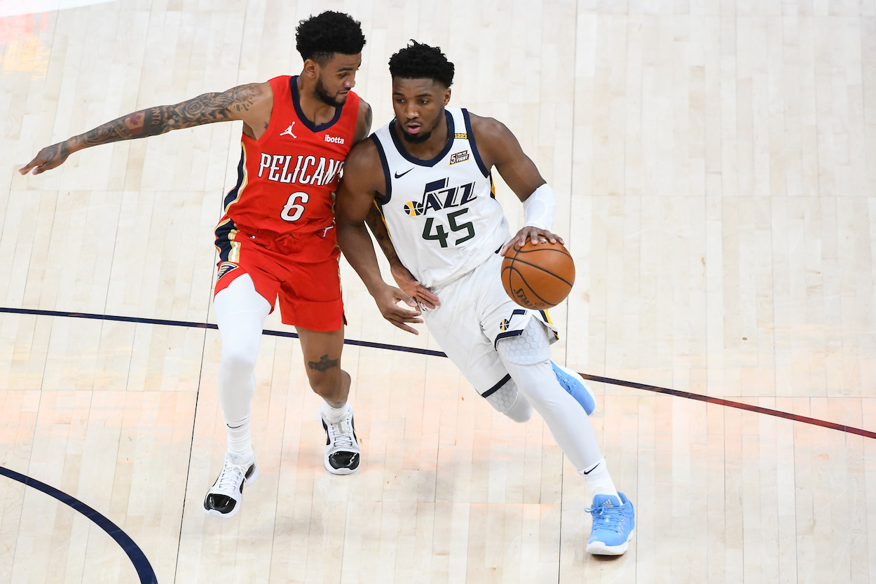 Shaquille O'Neal and TNT Crew Put Donovan Mitchell on Blast and All-Star Guard Responds in Extremely Uncomfortable Interview