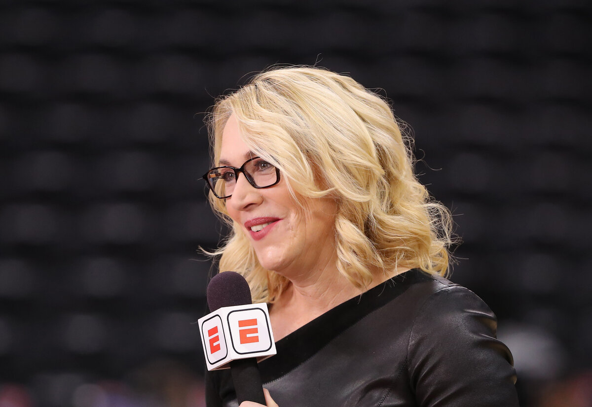 ESPN announcer Doris Burke worked in the NBA bubble last summer, and she had a commendable reason for why she never complained about anything.