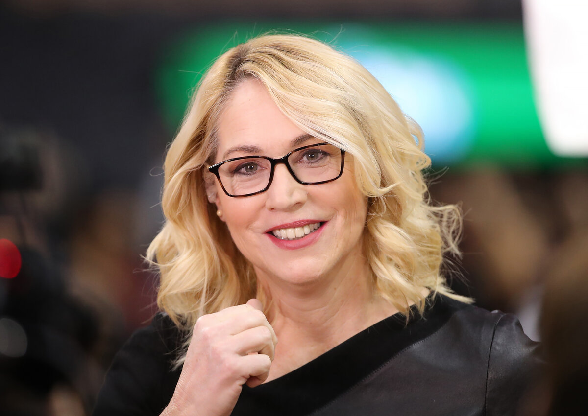Popular ESPN announcer Doris Burke might not have her successful television career if not for a colleague's sudden absence and her own avaliability.