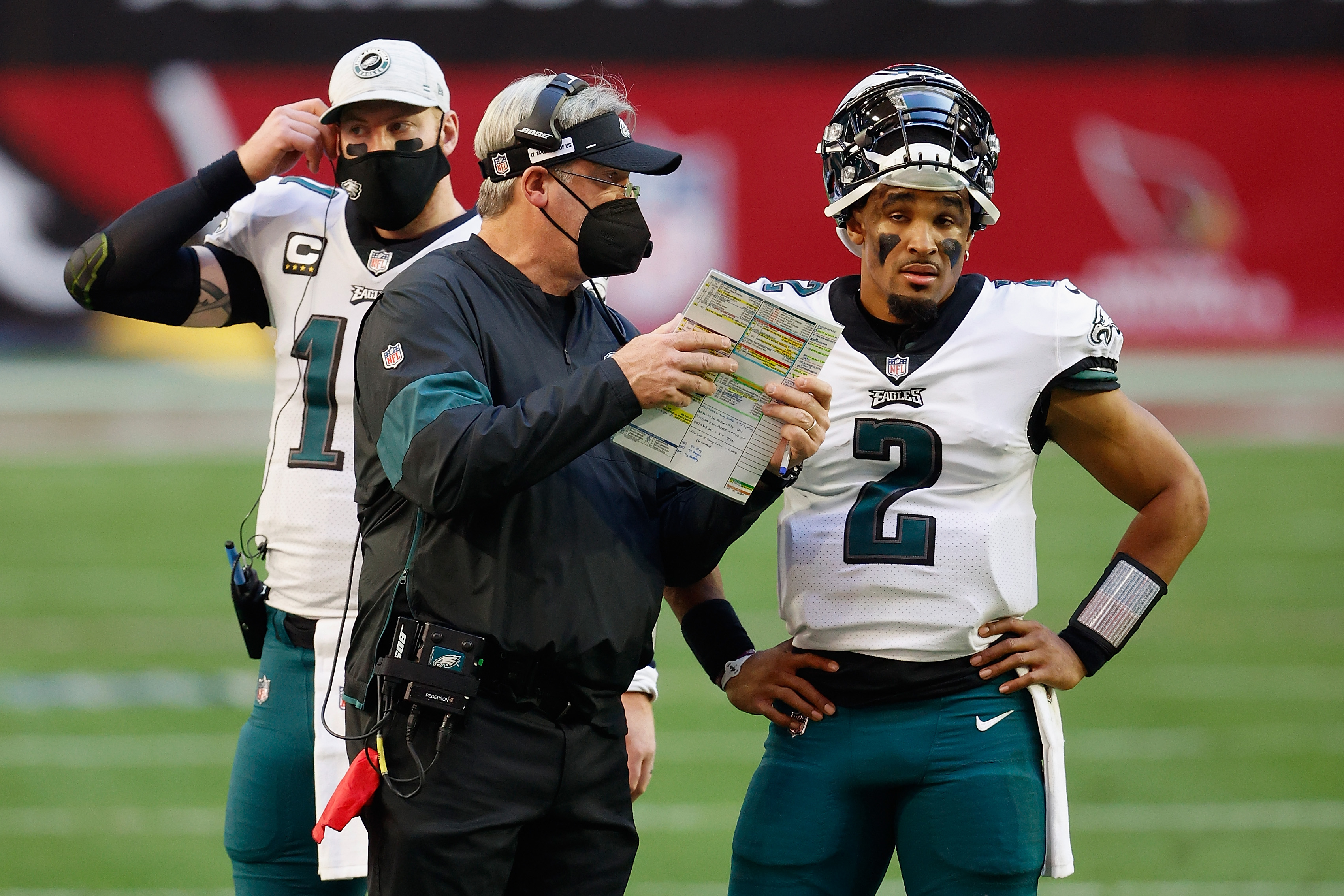 Even Doug Pederson's players aren't happy with him.