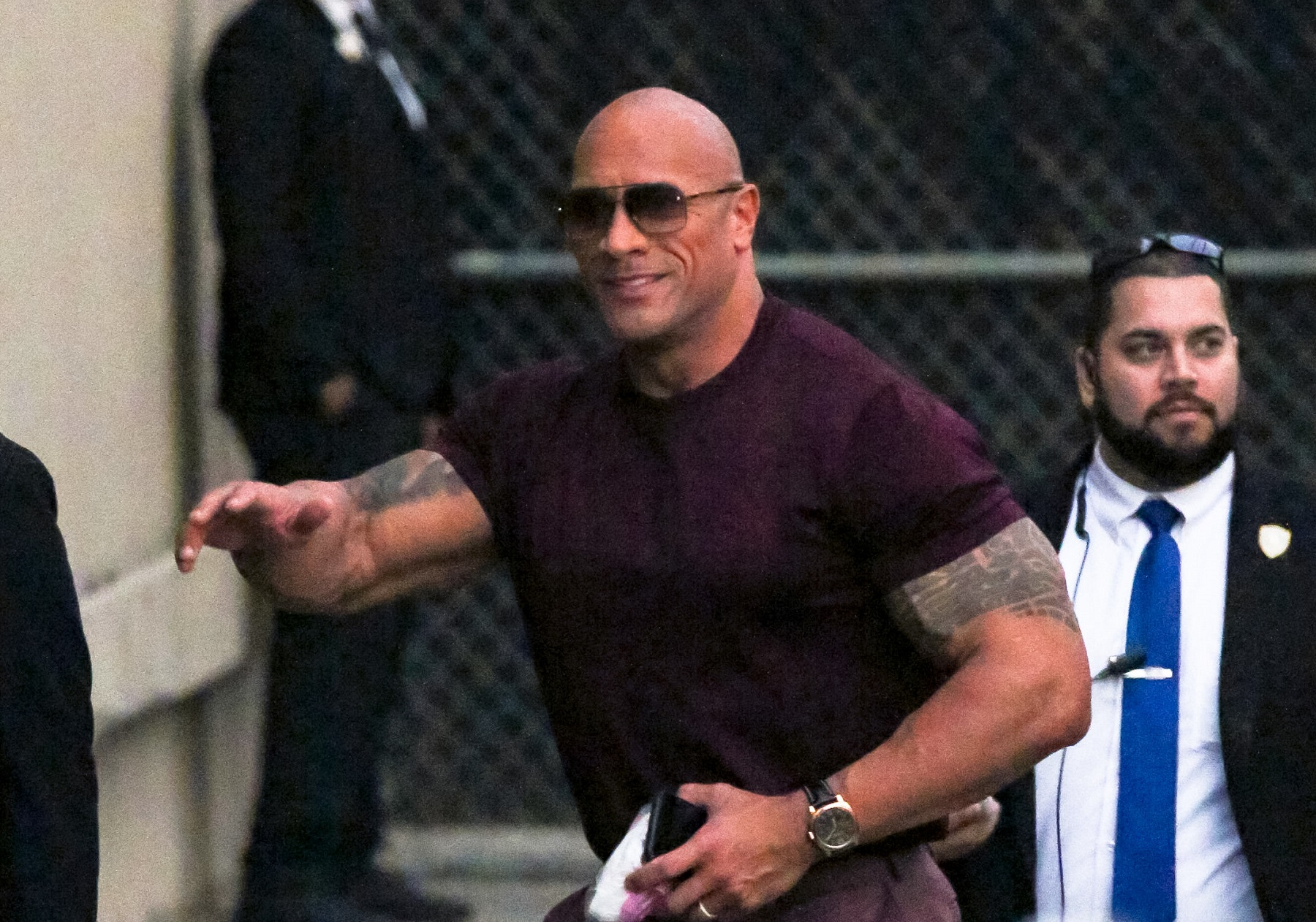Dwayne Johnson Gave a Former WWE Star an Awesome Christmas Gift