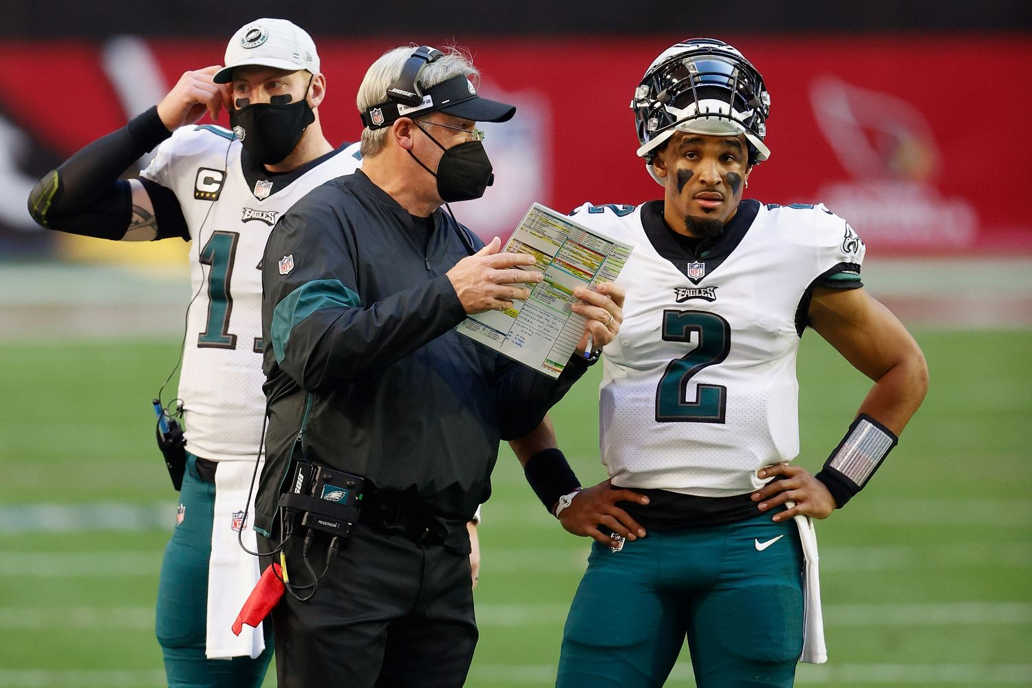 Tyree Jackson won't throw another NFL pass if the Philadelphia Eagles succeed with their plan for the freakishly gifted quarterback.