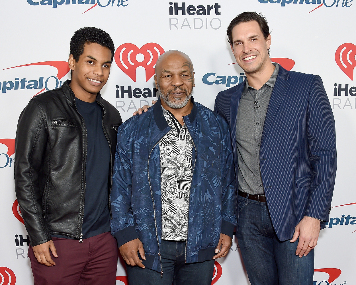 Is Eben Britton done as co-host of Mike Tyson's podcast?