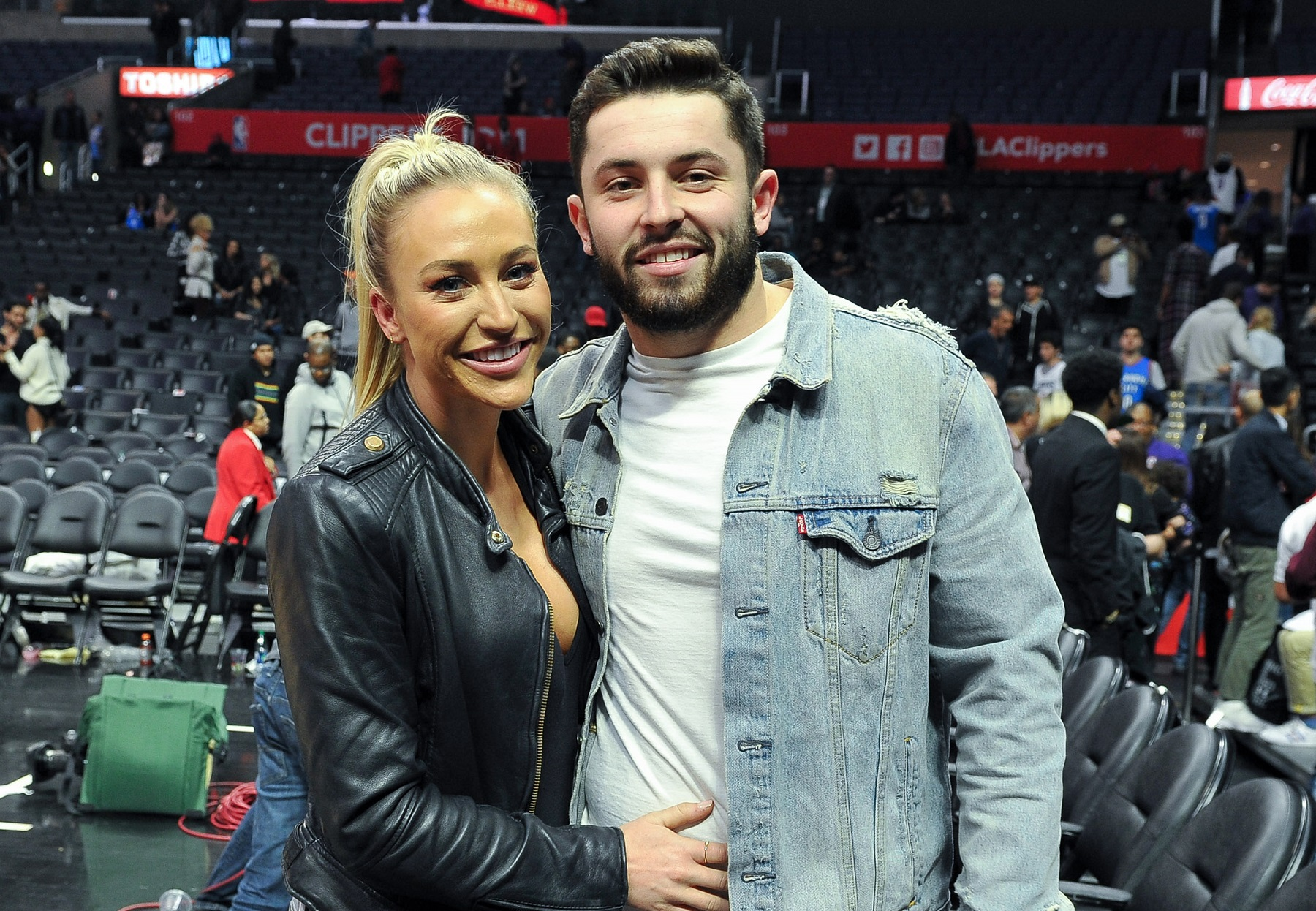 Baker Mayfield's Wife and Browns Fans Brought a Hospice Patient To Cleveland To Revel in the Playoff Joy