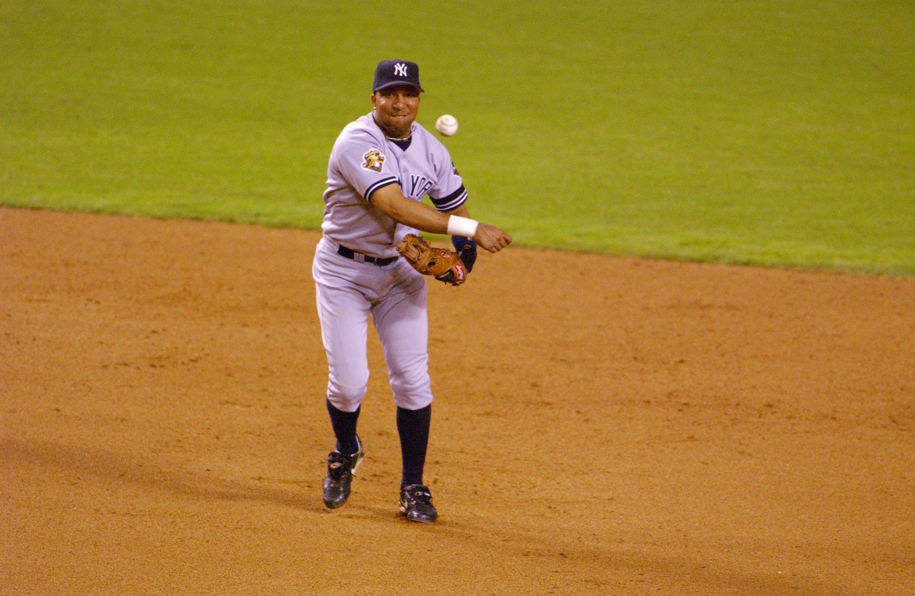 Yankees infielder Enrique Wilson