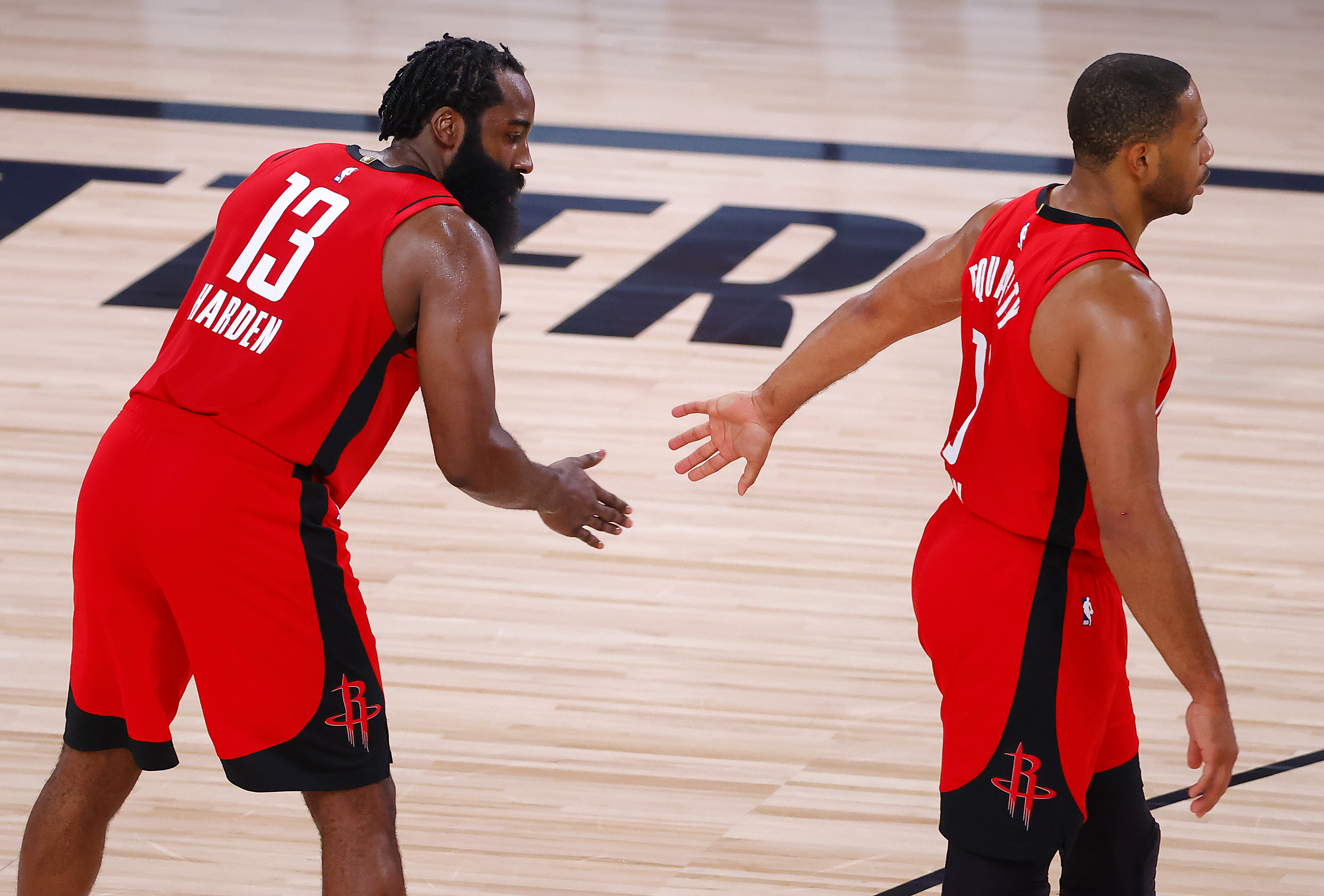 "The Houston Rockets traded their superstar guard James Harden, and Eric Gordon believes the Rockets can ""move forward"" with their season."