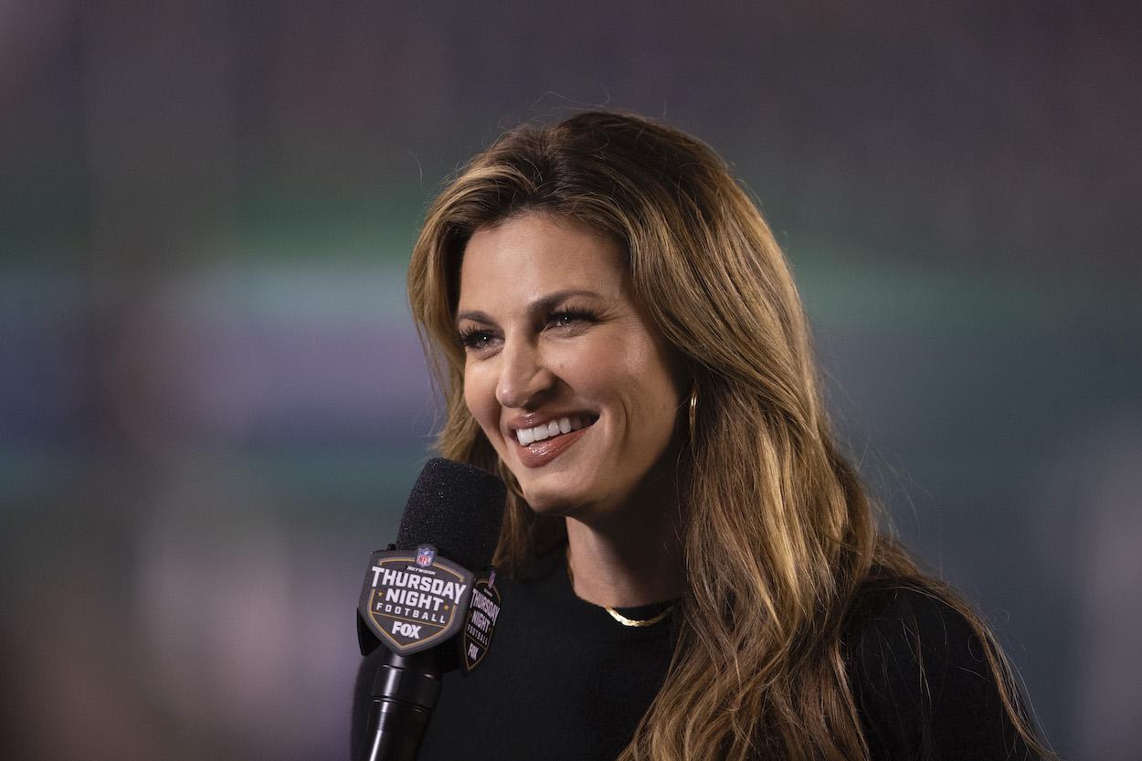 Fox sideline reporter Erin Andrews