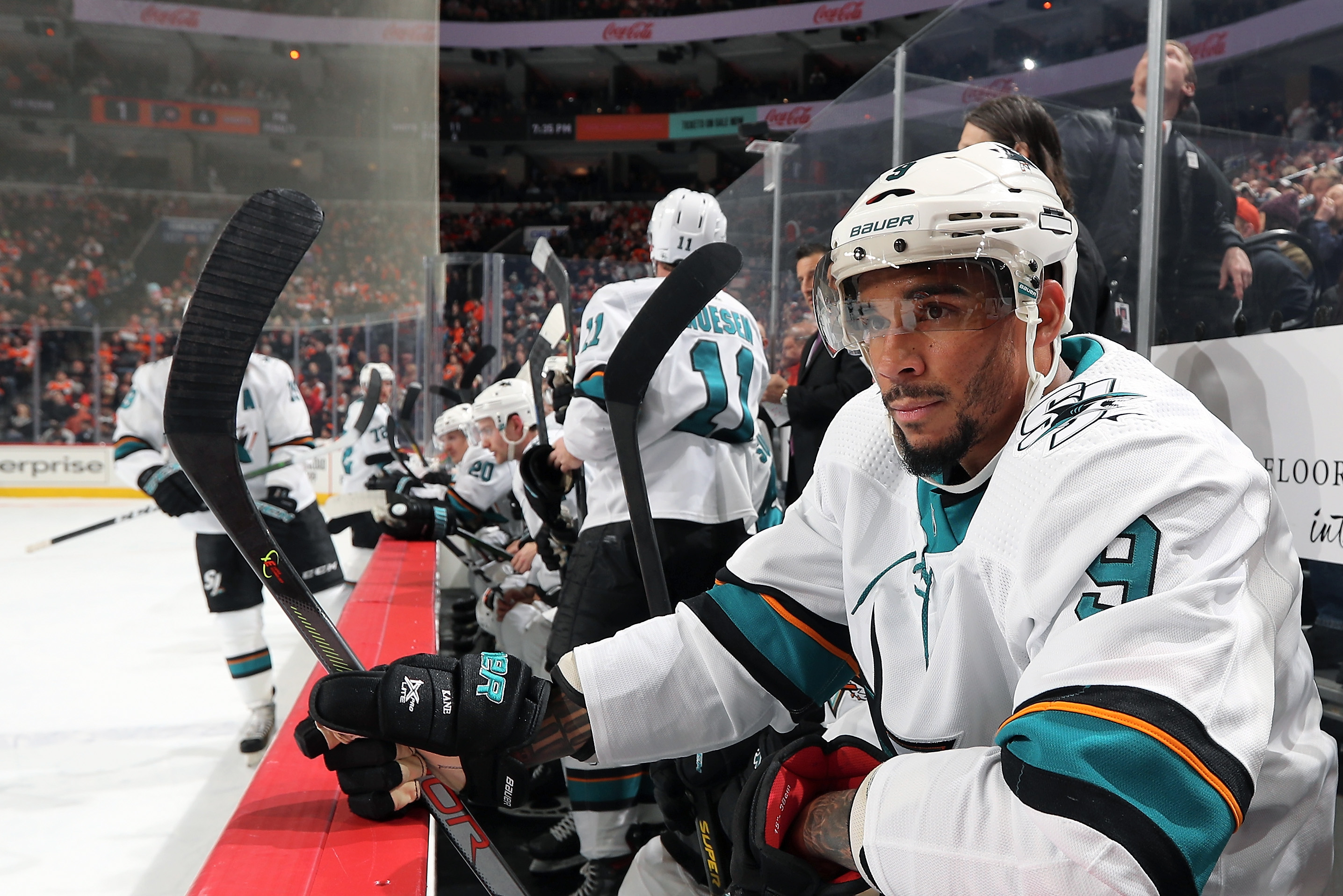 San Jose Sharks wing Evander Kane has some major issues ahead of the 2020-21 season. Kane, who has earned $55 million so far, just filed for bankruptcy.