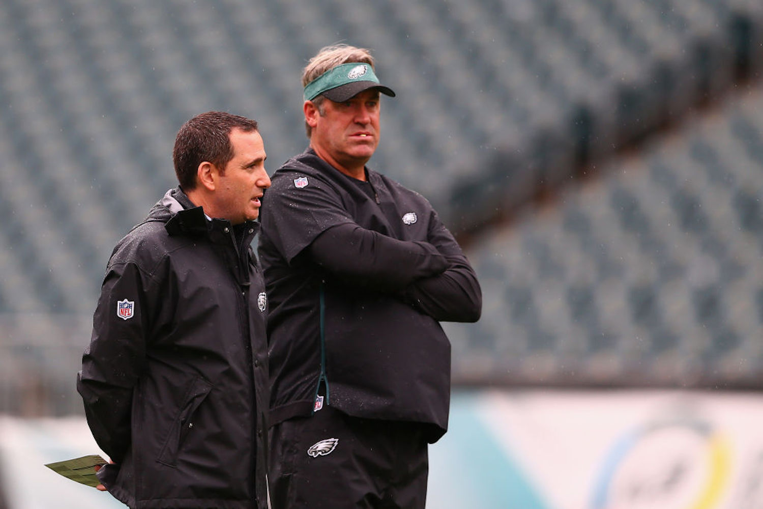 Doug Pederson is out as the head coach of the Philadelphia Eagles, but the team's biggest problem still resides in the front office.