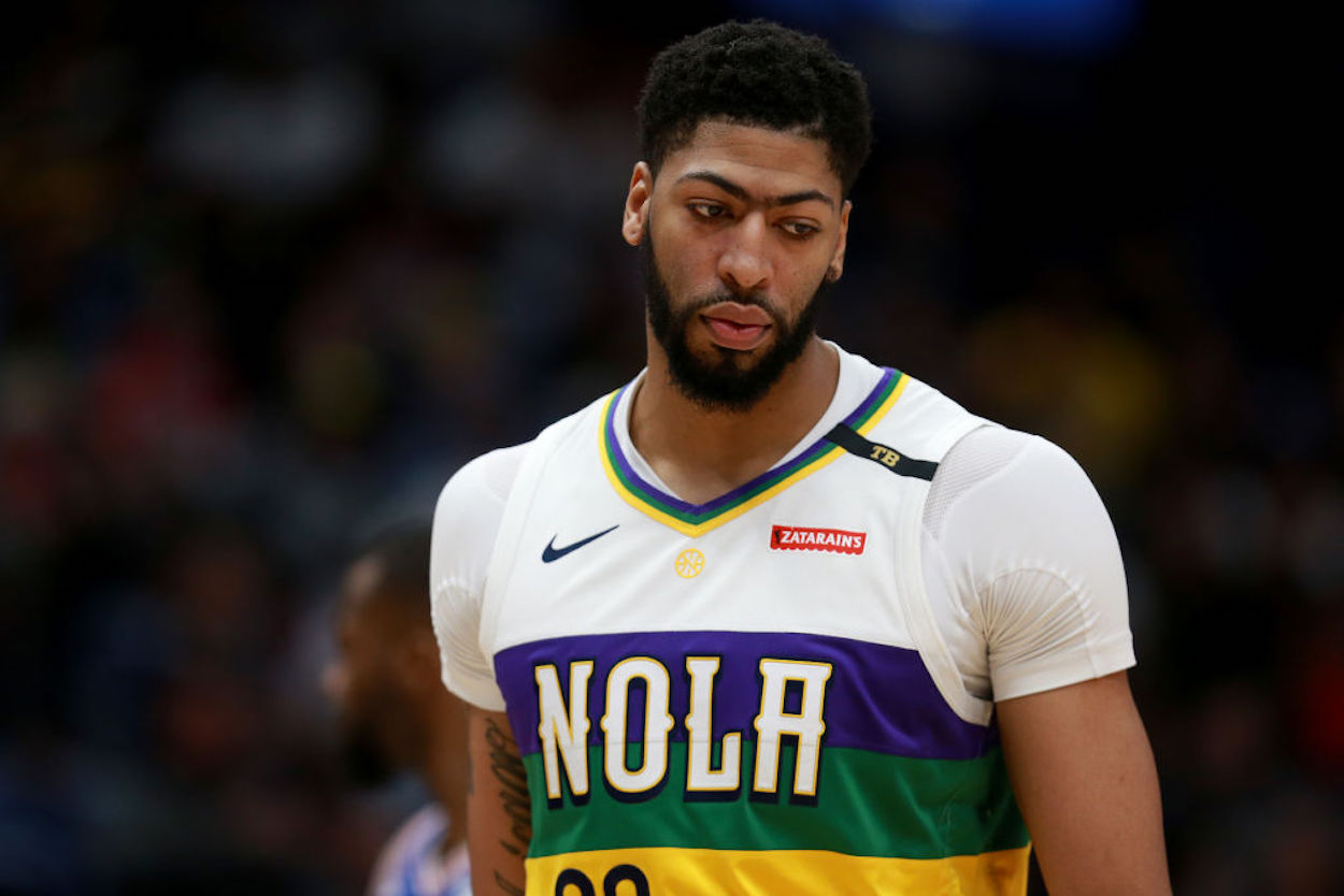 Anthony Davis Admits the Pelicans Made Him Fall Out of Love With Basketball: 'I Didn't Have That Joy With Me Anymore'