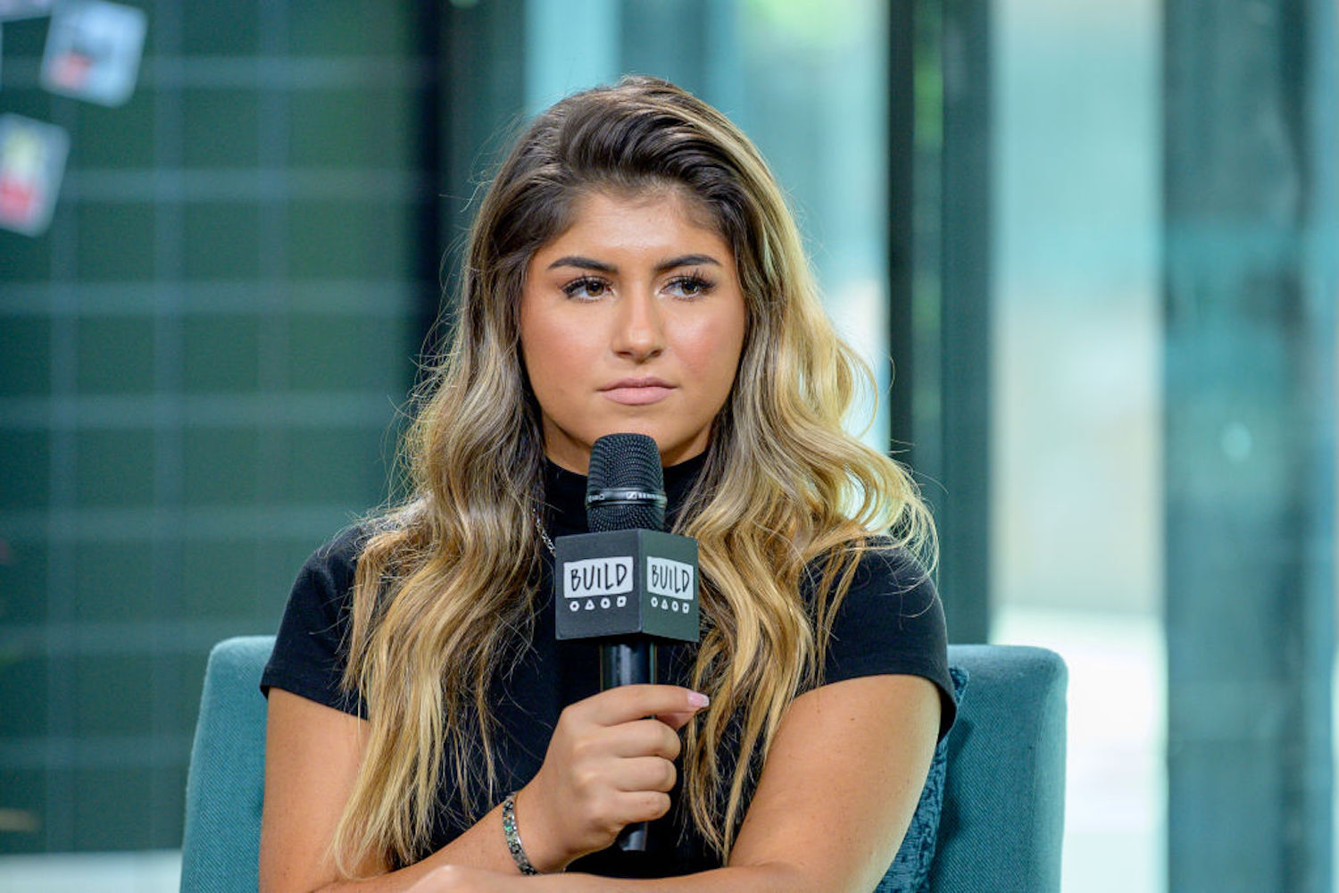 Hailie Deegan is a promising talent in NASCAR at 19 years old, but her career just hit a snag after she was caught uttering an offensive slur.