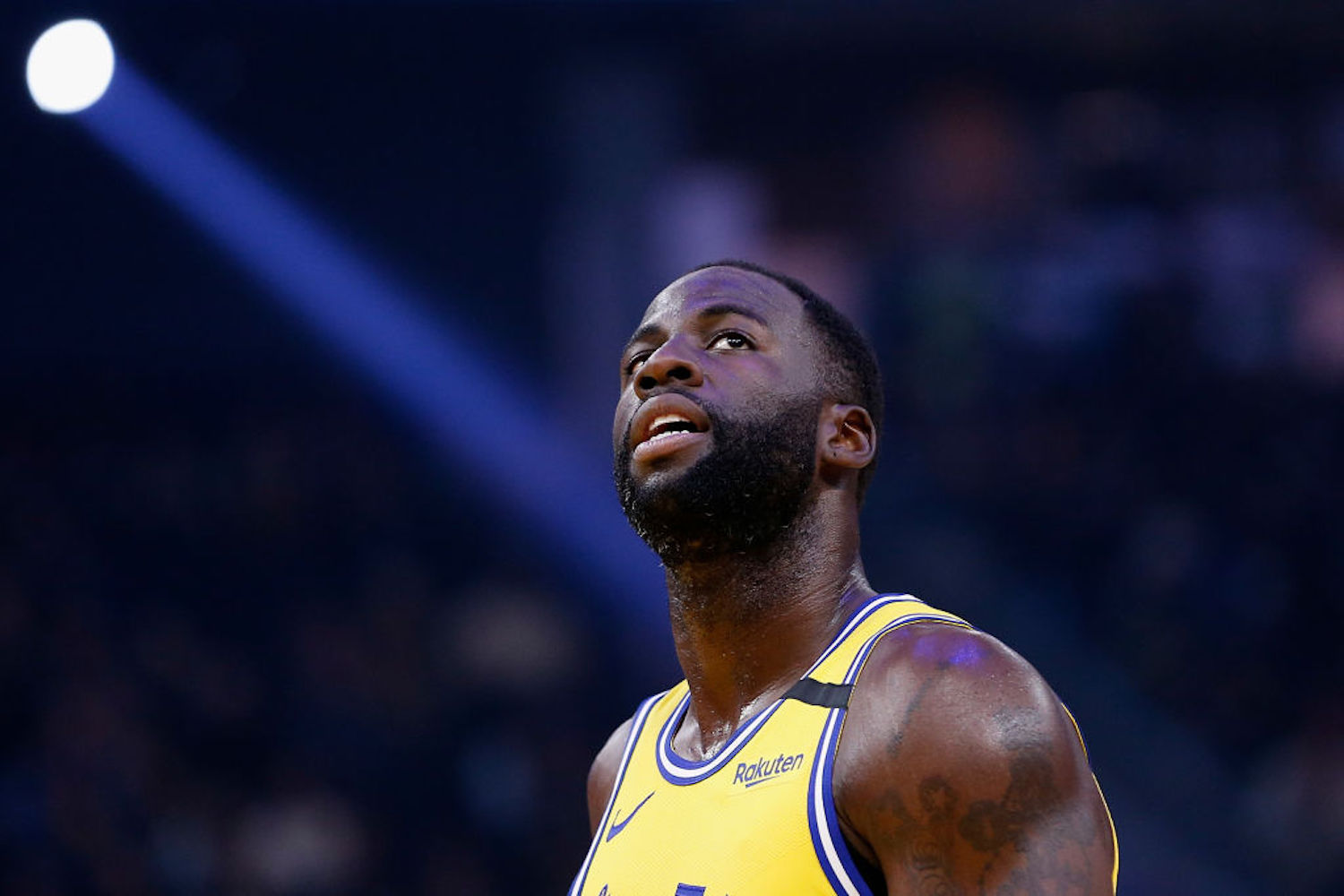 Draymond Green is always one to speak his mind, and he had a passionate message for the protesters in Washington D.C. on Wednesday.