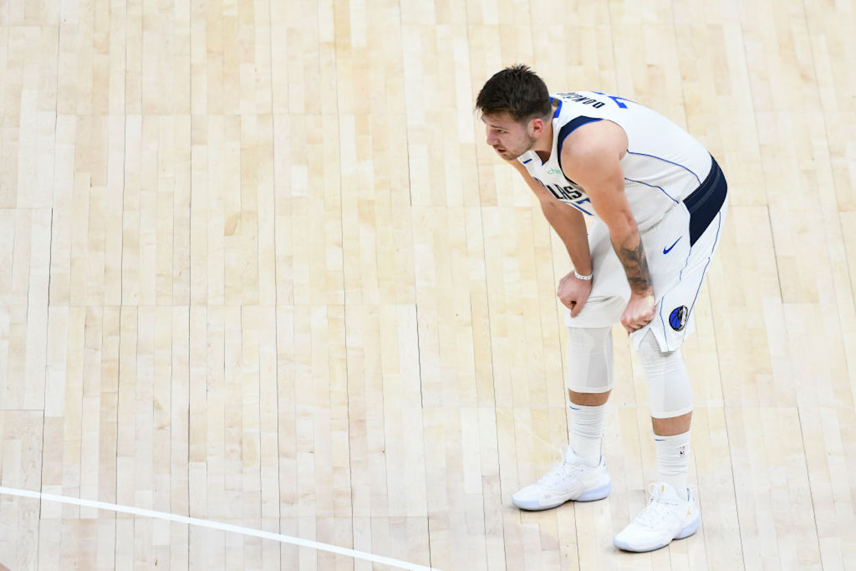 The Dallas Mavericks have lost five games in a row, and the frustration is building up for their MVP candidate, Luka Doncic.