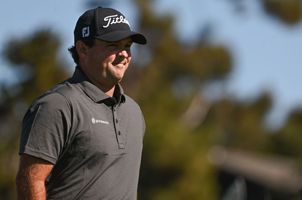 Patrick Reed has found himself in the middle of another cheating scandal after taking relief from an embedded ball on Saturday.