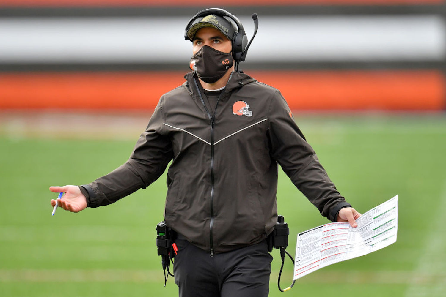 The Cleveland Browns will play their wild card game against the Pittsburgh Steelers without head coach Kevin Stefanski, but why?