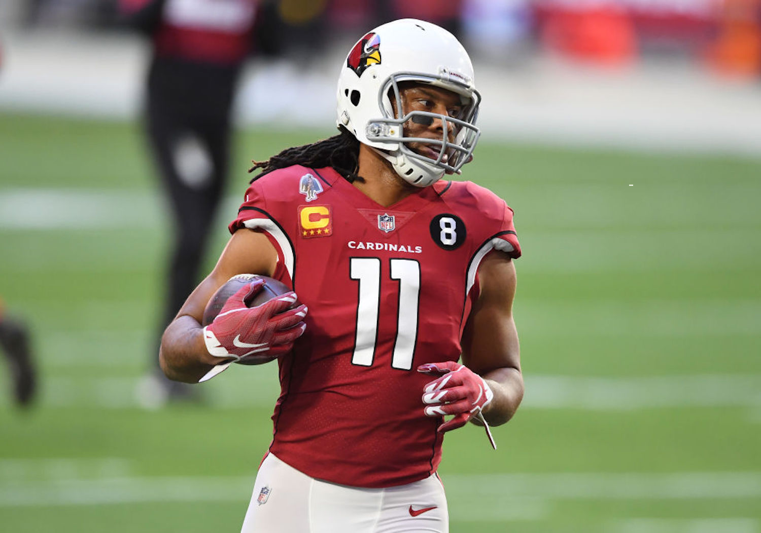 The Arizona Cardinals will be without future Hall-of-Fame wide receiver Larry Fitzgerald Sunday against the Los Angeles Rams.