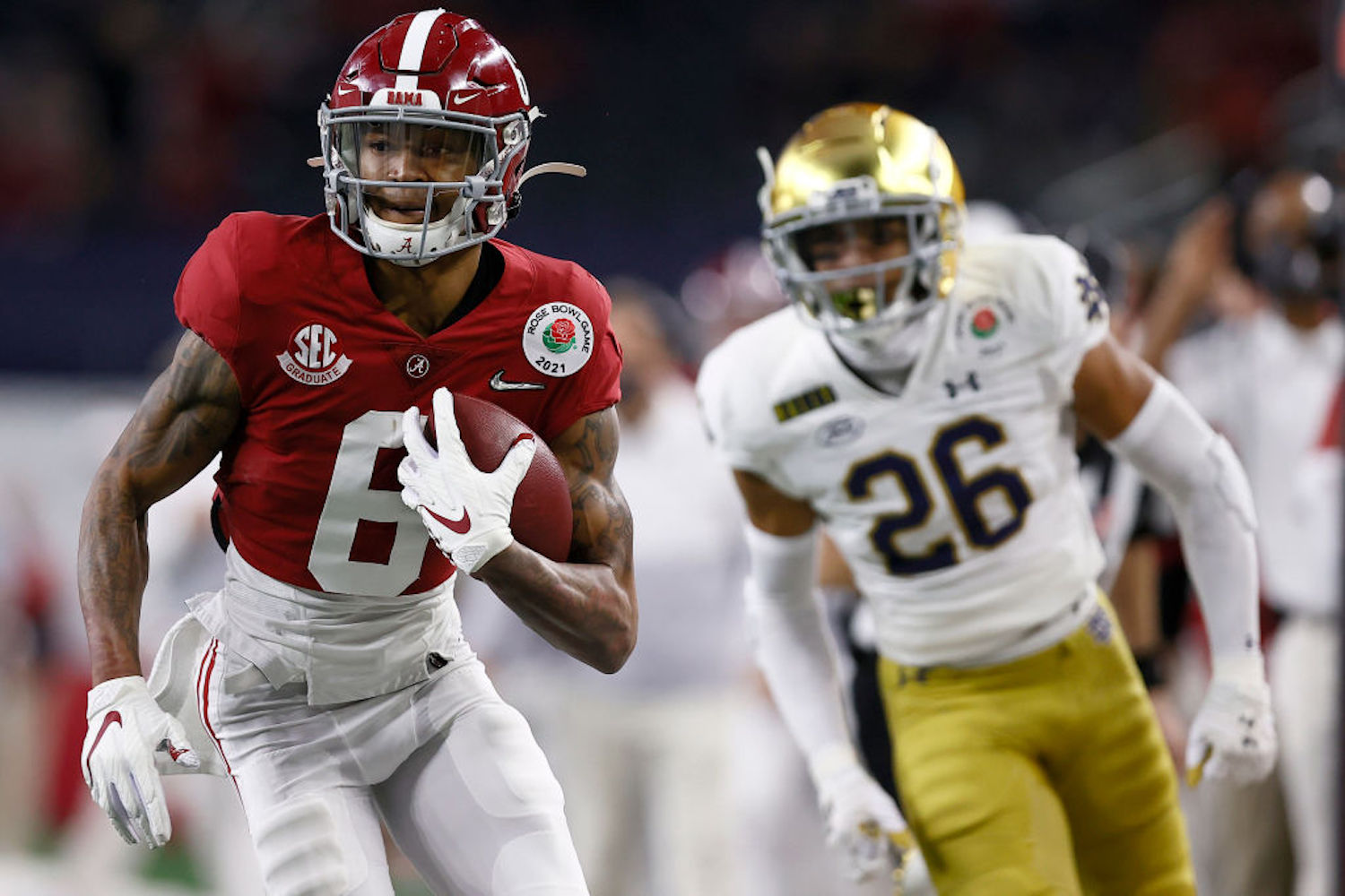 Alabama's Devonta Smith is the favorite to win the 2020 Heisman Trophy. Who was the last wide receiver to win the award and when was it?