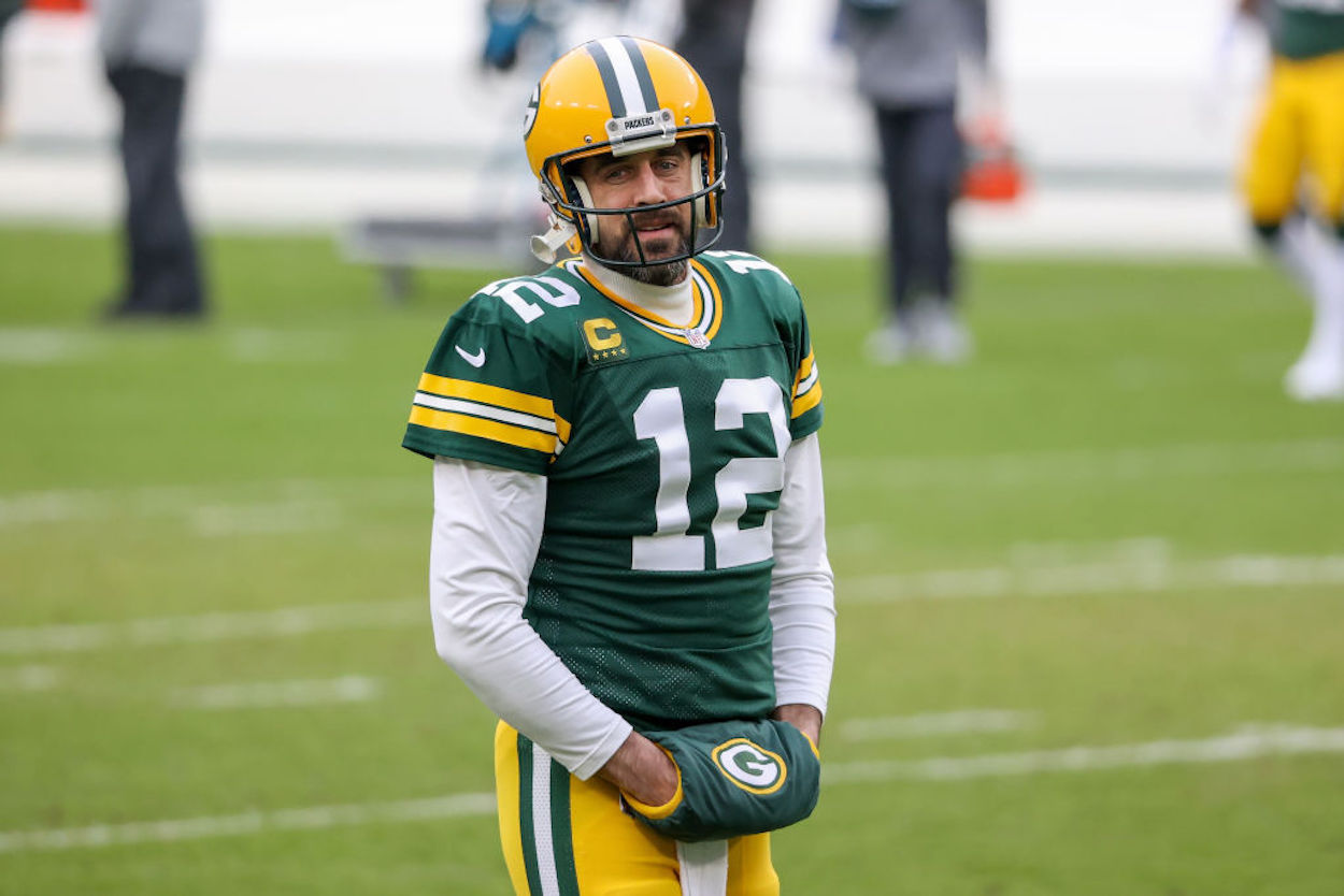 Aaron Rodgers' recent comments have fans worried about his future in Green Bay, but Packers CEO Mark Murphy just shut down any trade speculation.