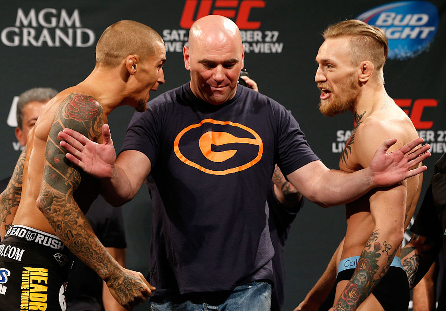 Dustin Poirier sure is excited about his upcoming bout against Conor McGregor. Some might say a little too excited after his recent comments.