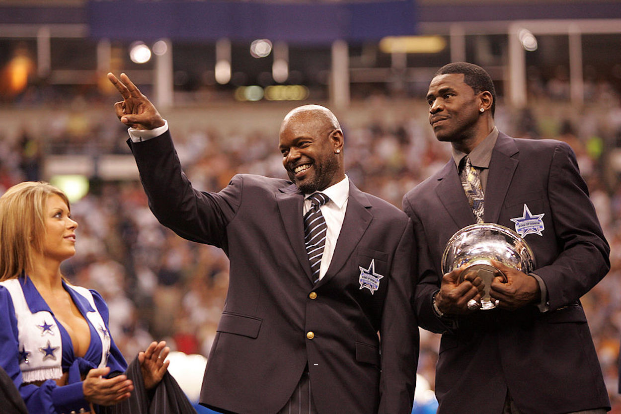 Emmitt Smith knew he would become the NFL's all-time leading rusher as a rookie, but Michael Irvin thought he was going crazy.