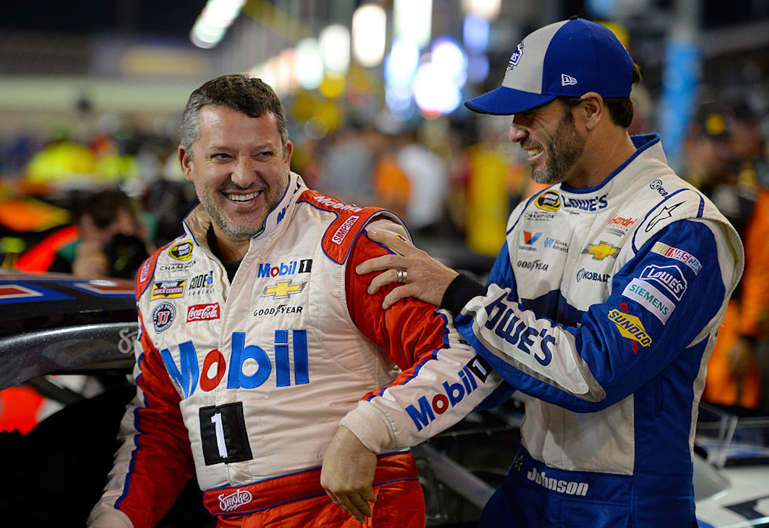 Tony Stewart recently told a hilarious story about how he had to save Jimmie Johnson after the NASCAR legend got stuck in an elevator.