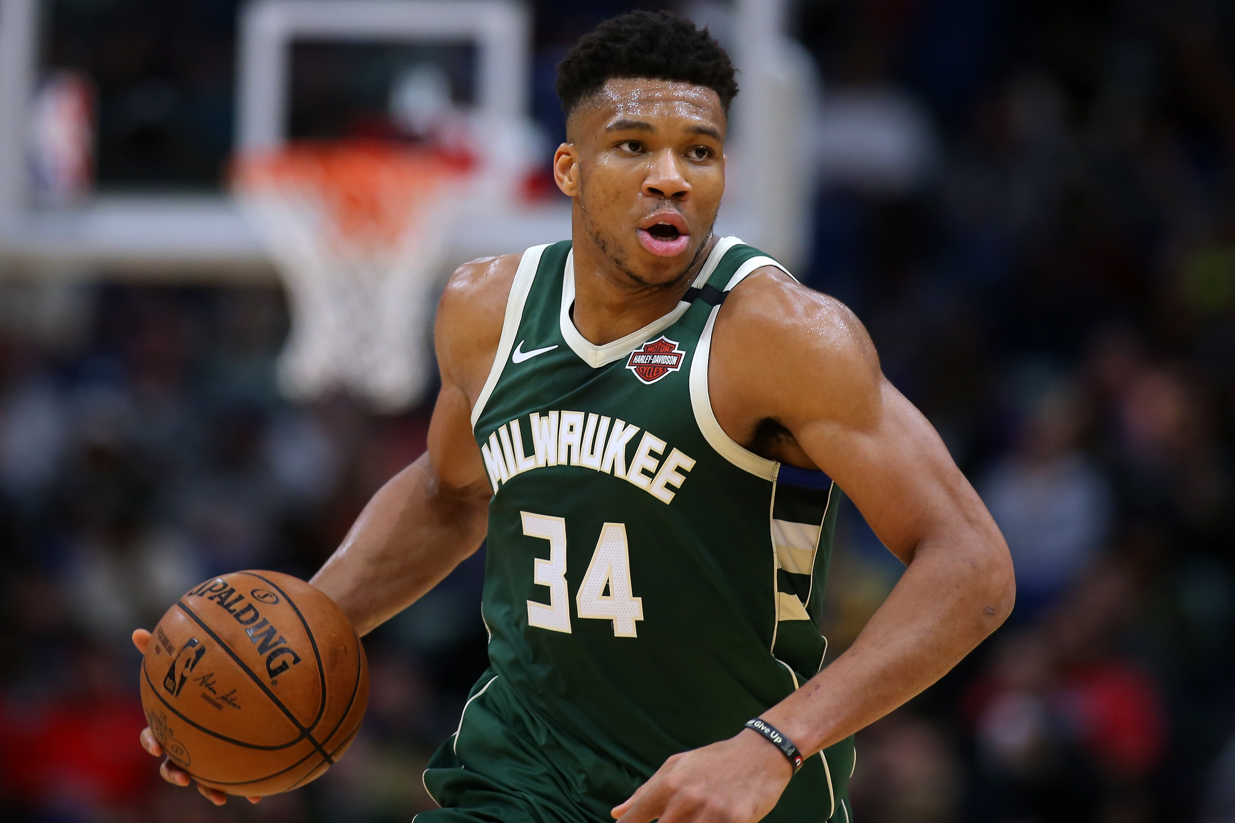 Giannis Antetokounmpo adds an unexpected secret ingredient to his smoothies to help aid his recovery.