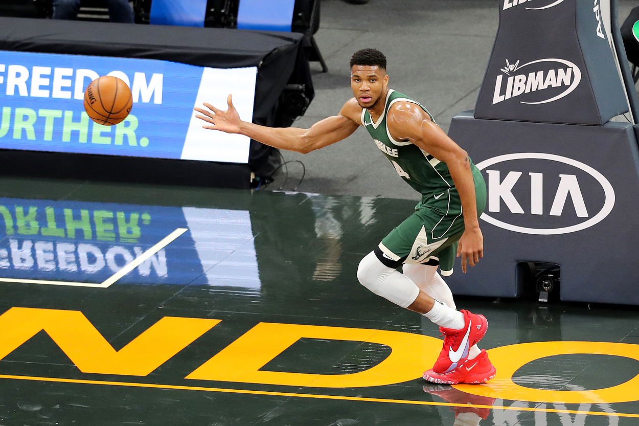 Giannis Antetokounmpo Is an Athletic Freak but Can He Really Do What He Says?