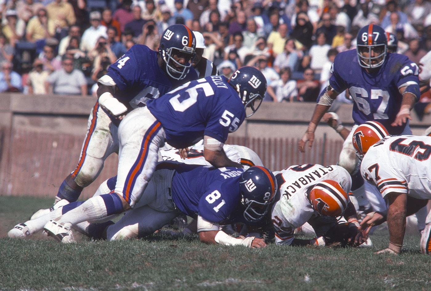 Giants vs. Falcons at Yale Bowl