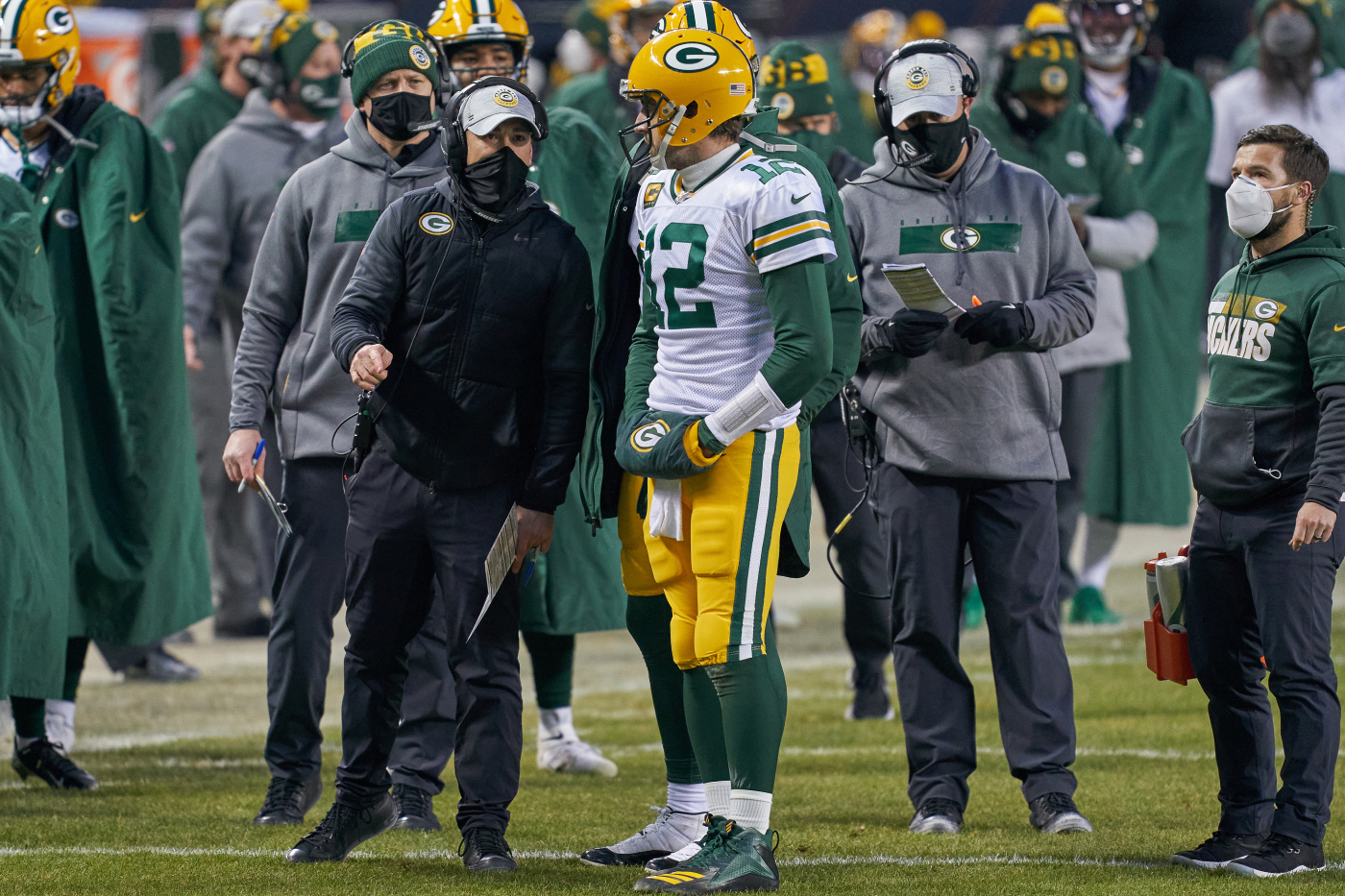 The Green Bay Packers rallied around each other Sunday.