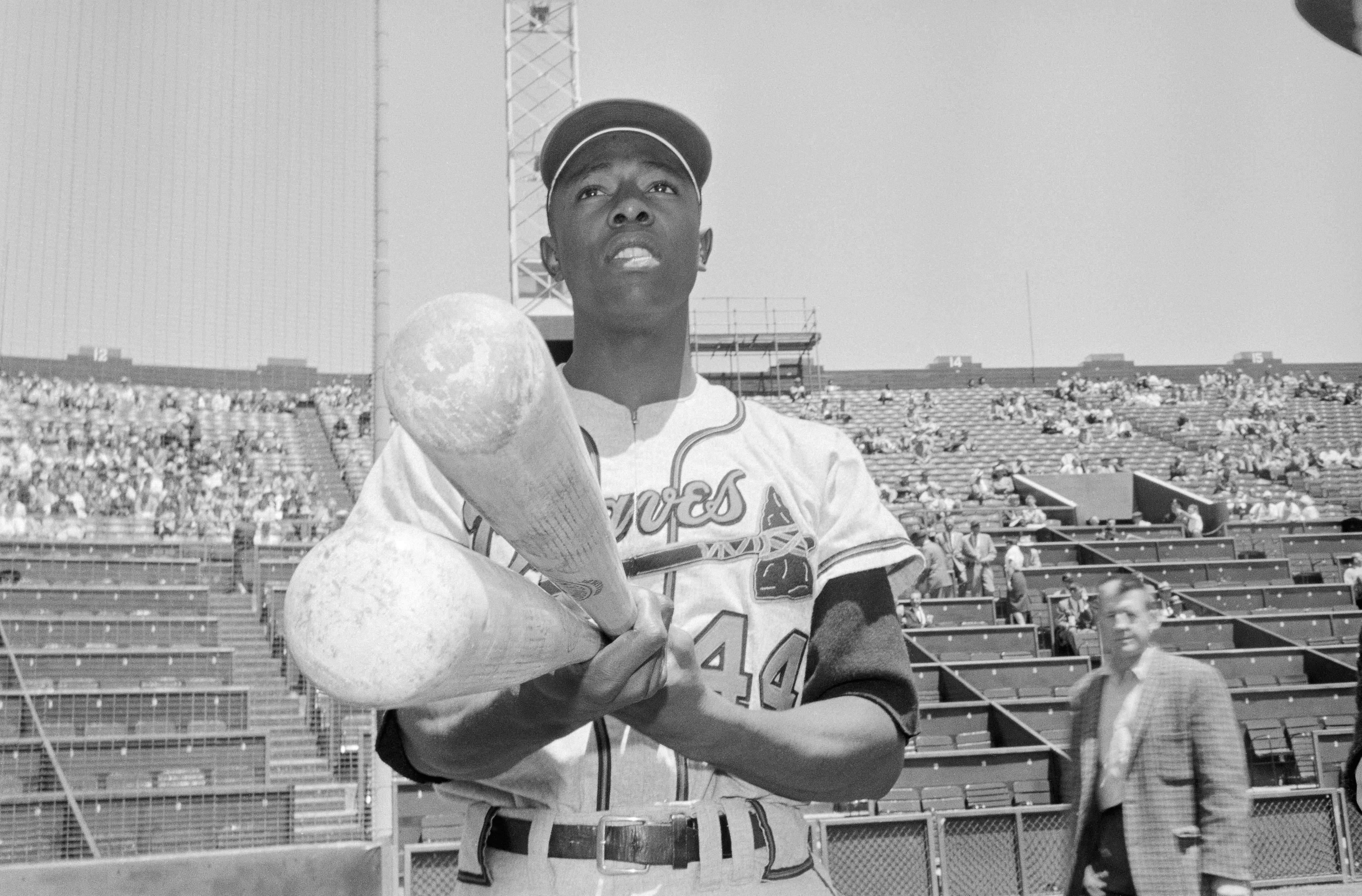 Hank Aaron and his number 44 will be honored by other Georgia sports teams for their upcoming 2021 seasons.