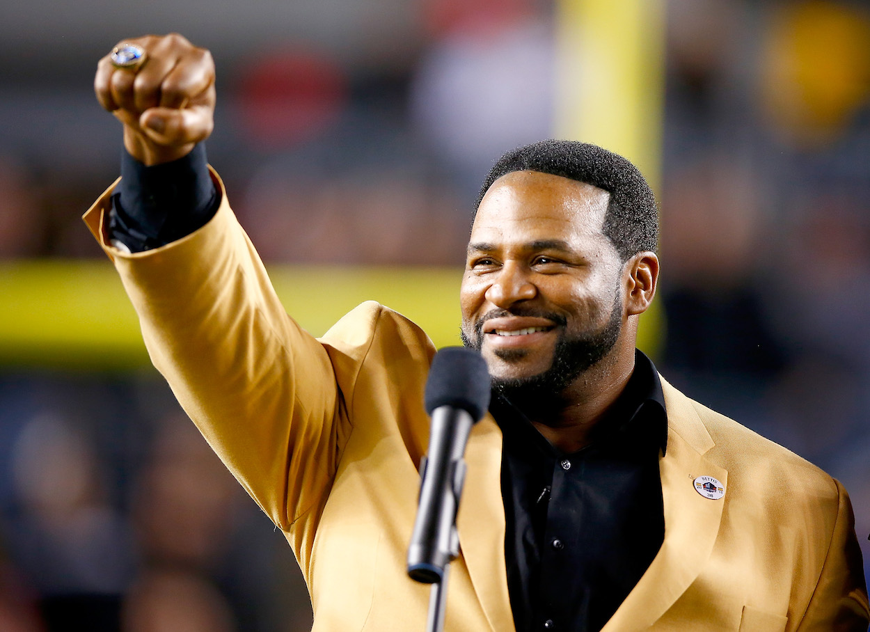 The Gruesome Moment Jerome Bettis Decided to Quit Selling Crack and Getting in Gun Battles With Rival Drug Dealers