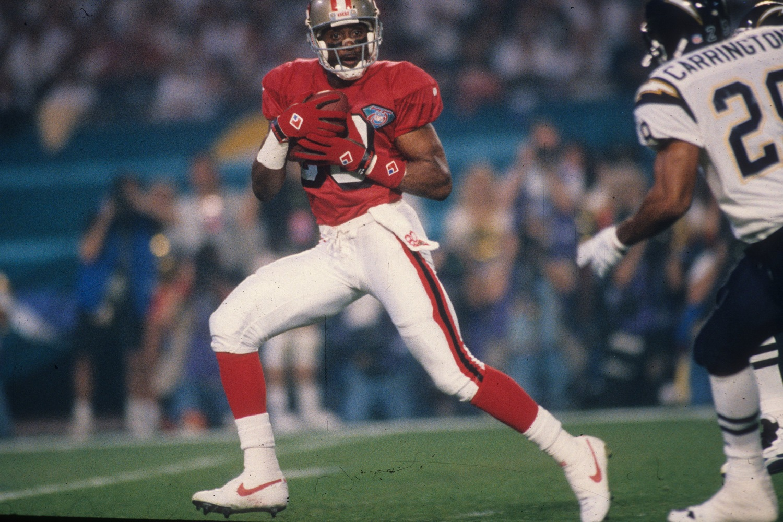 Jerry Rice NFL playoffs