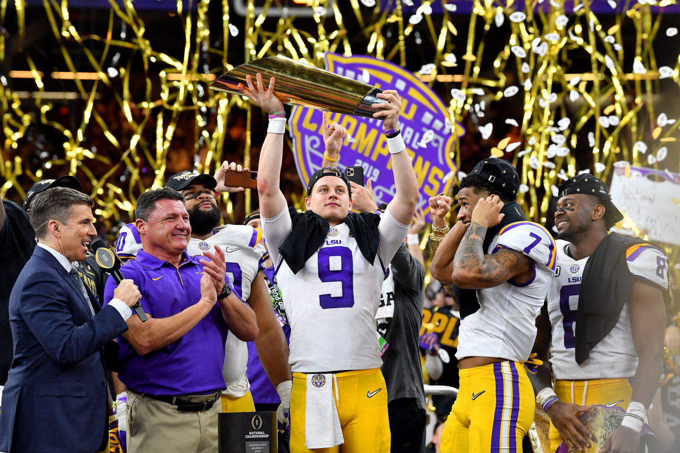 Joe Burrow and the 2019 LSU Tigers were a dominant college football team. However, the 2020 Alabama Crimson Tide were also incredible.