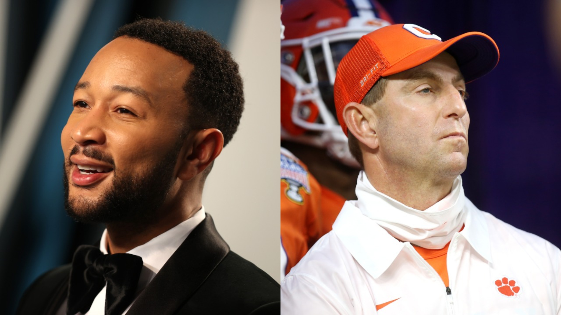 Dabo Swinney and his Clemson Tigers lost to Ohio State in the CFP semifinals, 49-28. Music superstar John Legend then took a shot at him.