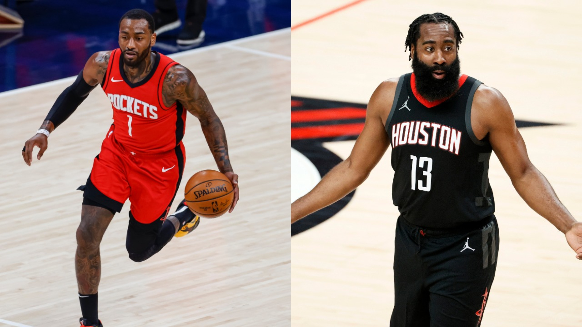 James Harden clearly doesn't want to be on the Houston Rockets. His new teammate John Wall seems to already be fed up with the drama, too.