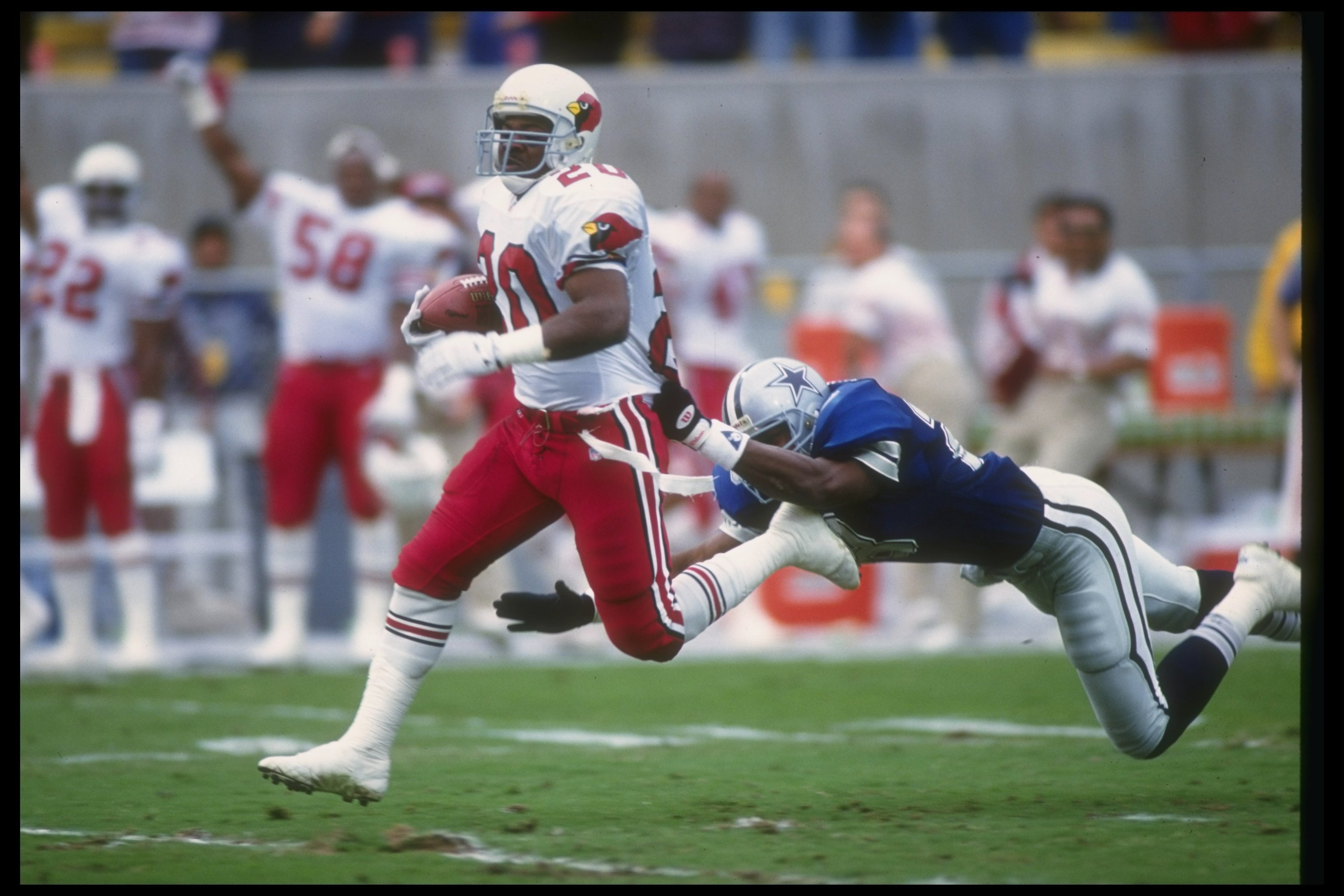Pro Bowler Johnny Bailey died of pancreatic cancer in 2010 at the age of 43.