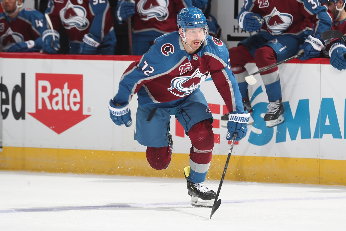 Colorado Avalanche forward Joonas Donskoi